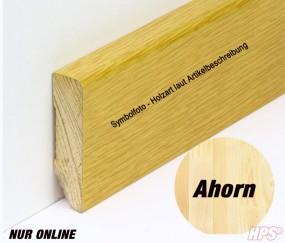 Sockelleiste Ahorn 58mm versiegelt
