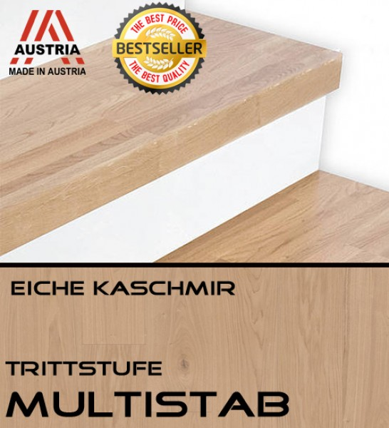 trittstufe eiche kaschmir ms trittstufen multistab. Black Bedroom Furniture Sets. Home Design Ideas