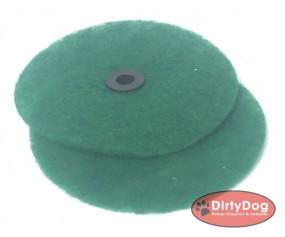 Pad Grün DirtyDog 2Stück