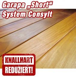 Holzterrasse Garapa Short System CONSYLT