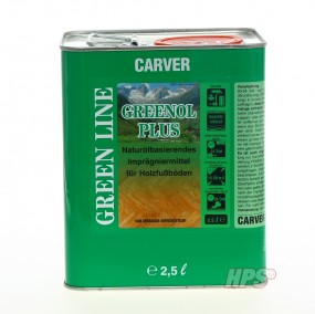 Carver Parkettöl Greenol Plus 2.5L Fussbodenöl Parkettöl