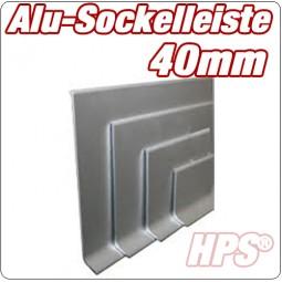 Alu Sockelleiste 40mm