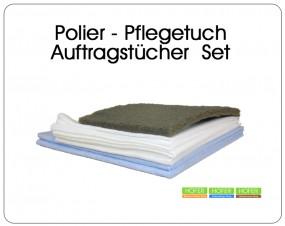 Parkett Polier Auftragstuch - Pflegetücher