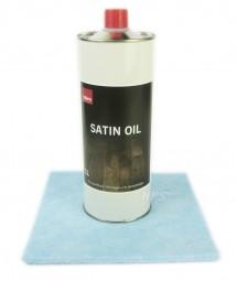Satin Oil 1lt. für Kährs geölte Parkettböden ink. Satin Öl Auftragsvlies