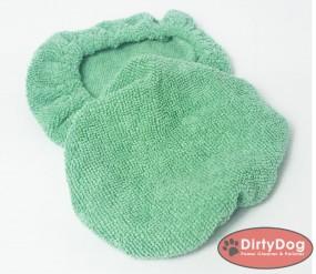 Polierhaube Teppichpad DirtyDog 2Stück