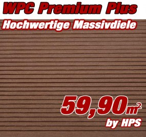 WPC Massivdiele Premium Plus - Cumaru
