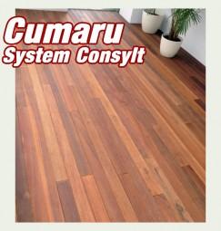 Holzterrasse Cumaru -Tonka Nuß BRAZIL System CONSYLT