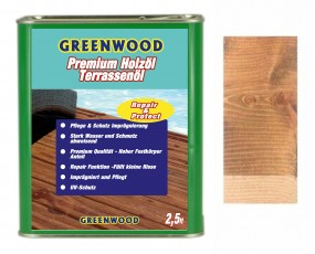 Holzöl Thermoesche medium, Terrassenöl - Repair & Protect