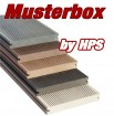 Musterbox 5xWPC - 1xBPC XXL Muster - Farbmuster