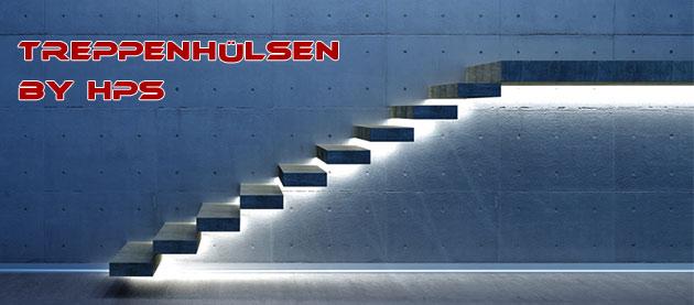 Trittstufen Stiegen Treppenhülsen